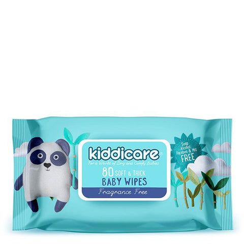 Kiddicare Baby Wipes - Fragrance Free
