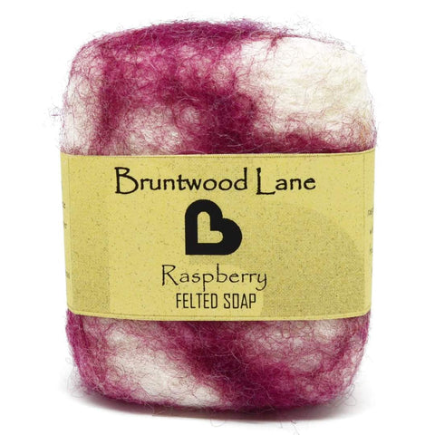 Raspberry Felted Soap