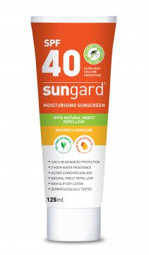 SunGard SPF40 Sunscreen and Insect Repellent Tube (125ml)