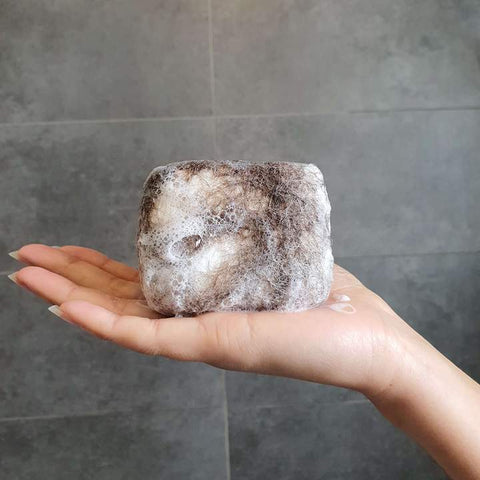 Charcoal Detox Felted Soap