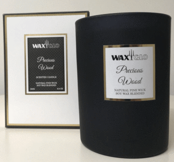 Precious Wood Scented Candle - 250g