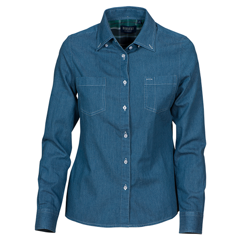 Jupiter Ladies Denim Shirt