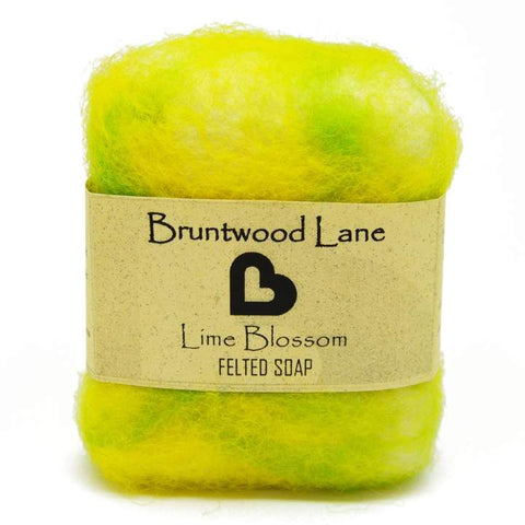 Lime Blossom Felted Soap