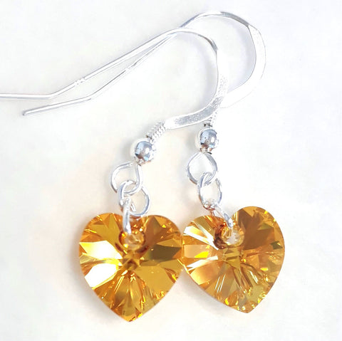 Metallic Sunshine Earrings
