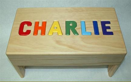24. Personalized Step Stool