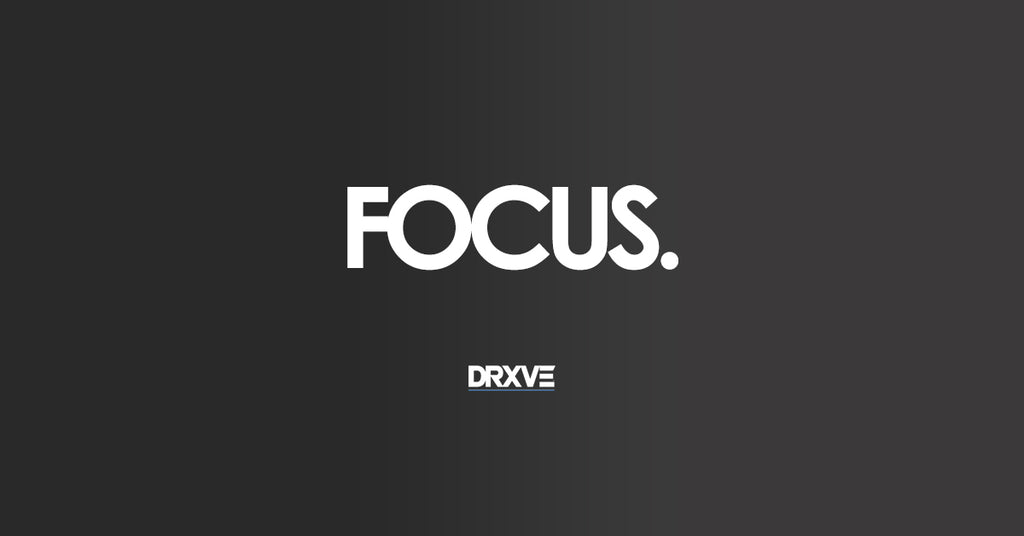 Look Past the Distractions & FOCUS.