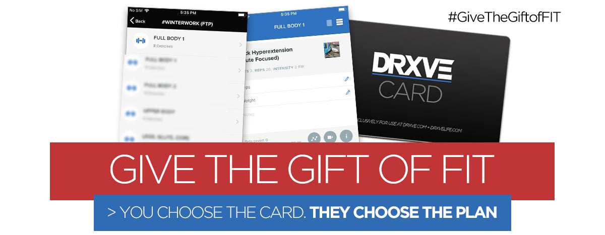 DRXVE GIFT CARD
