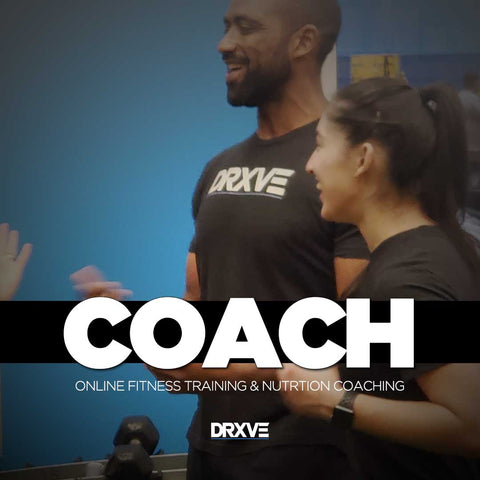 COACH  (12 WEEKS of 1:1 Online Training + Nutrition Coaching)