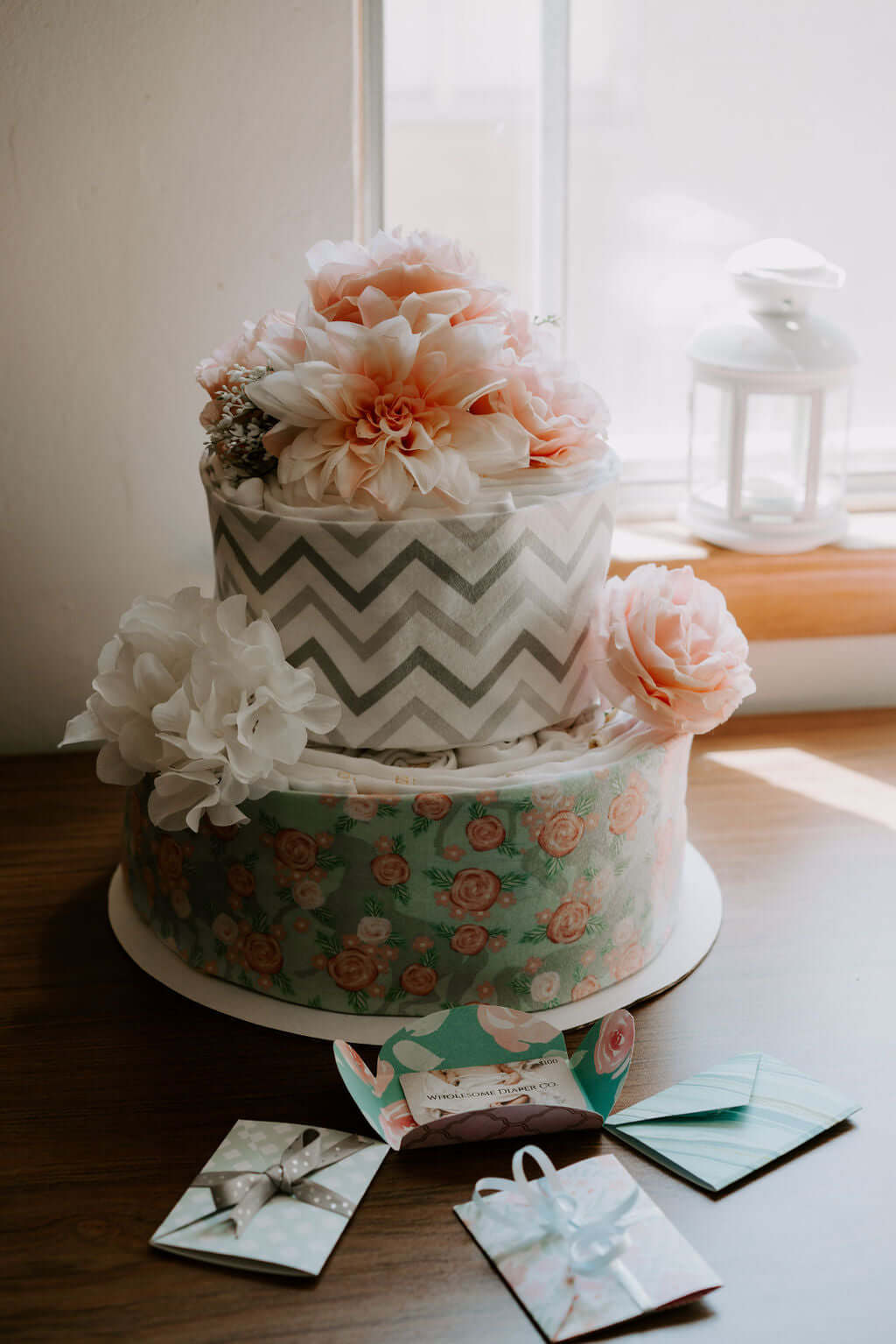 Cloth Diaper Cake - Wholesome Diaper Co.