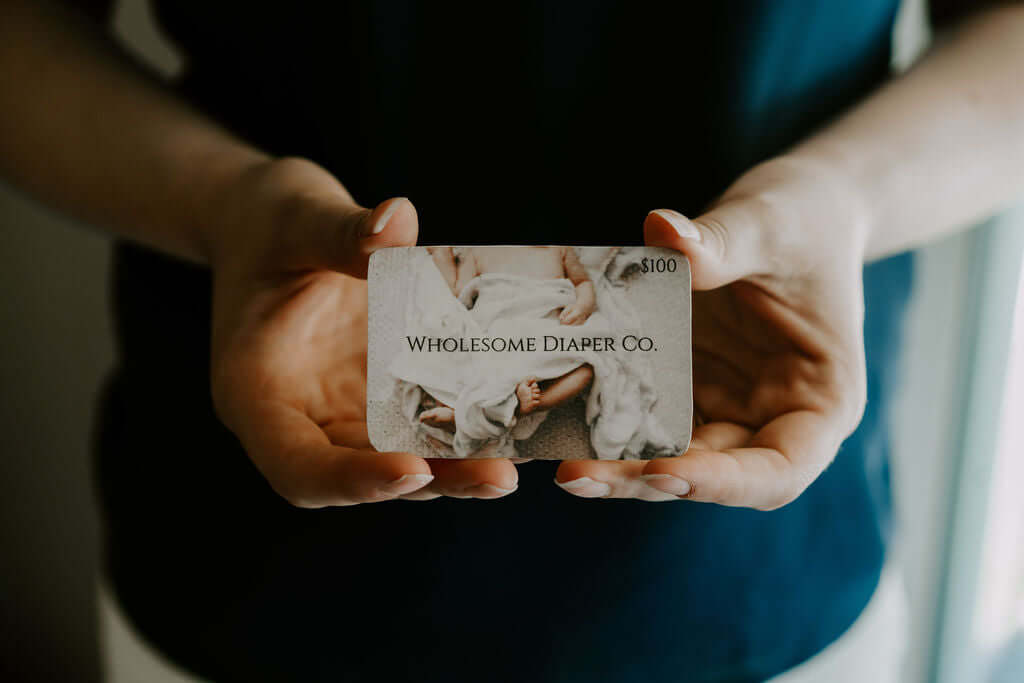 Gift Cards - Wholesome Diaper Co.