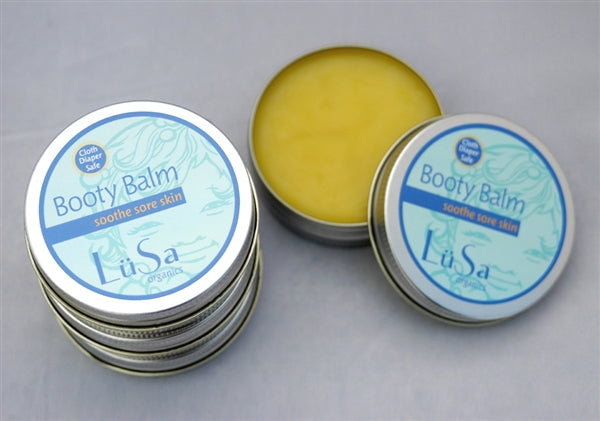 Lusa Organics Booty Balm - Wholesome Diaper Co.