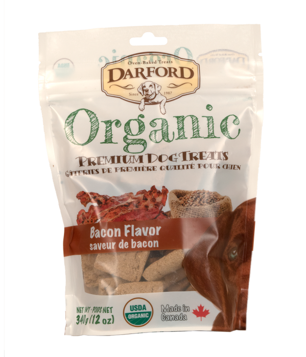 Darford Organic - Gâteries à Saveur de Bacon