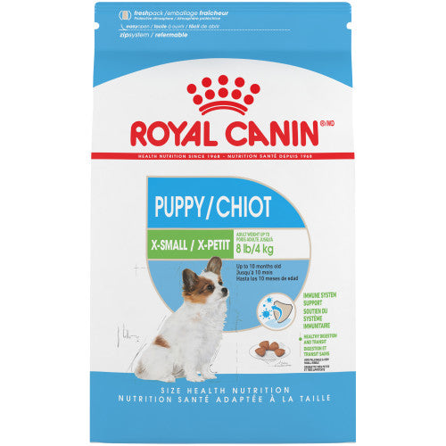 Royal Canin - X-Small Chiot 3lbs