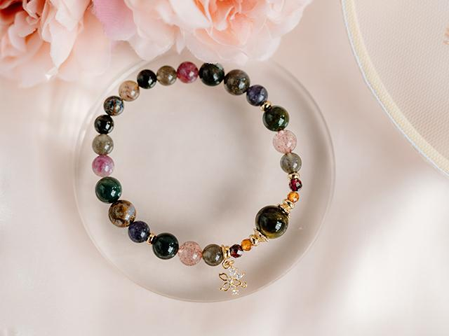 Bracelet: The Black Orchid