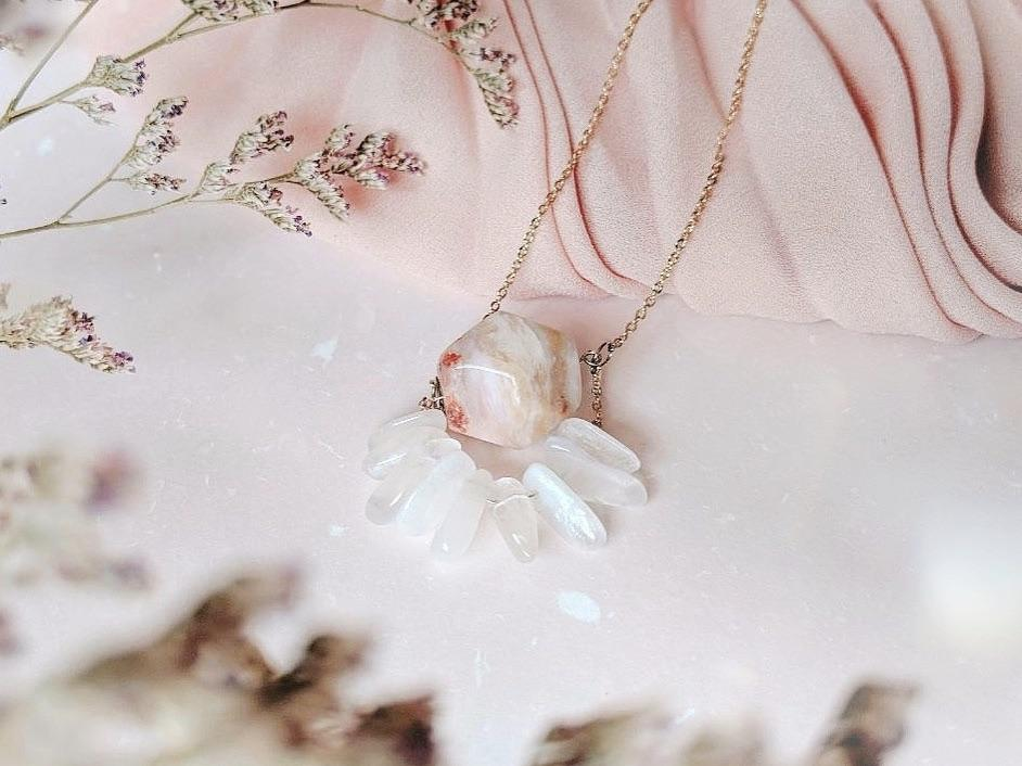 Necklace: Coneflower