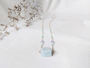 Necklace: Aquamarine (B)
