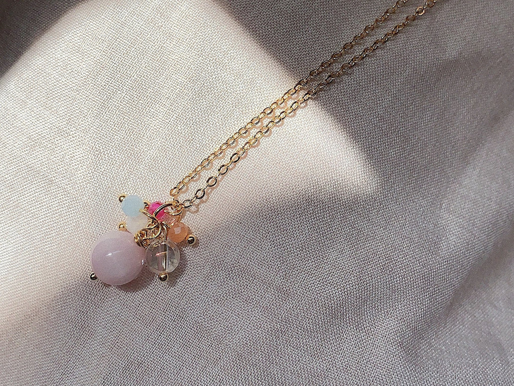 Necklace: Kunzite