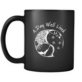 A Day Well Lived Mug - Black