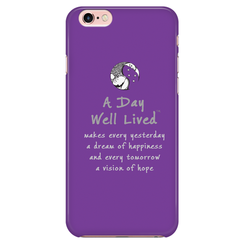 ADWL Quote iPhone 6/6s Case - Purple