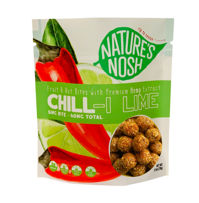 Chill-i Lime - Nature's Nosh CBD Bites