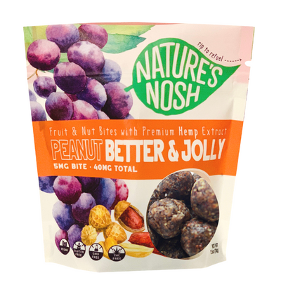 Peanut Better and Jolly - Nature's Nosh CBD Bites