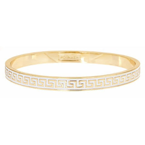 apollo bangle - white