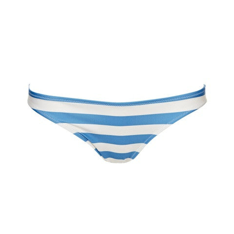 chloe swimwear bottom - blue & white