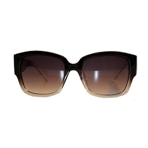 sunglasses - the ava - black fade