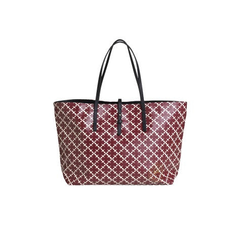 grineeh tote bag - burgundy - by malene birger