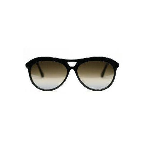 houston sunglasses - black brown