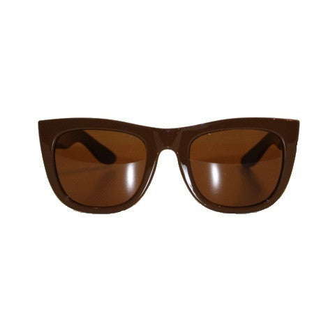 sunglasses - the manage - brown