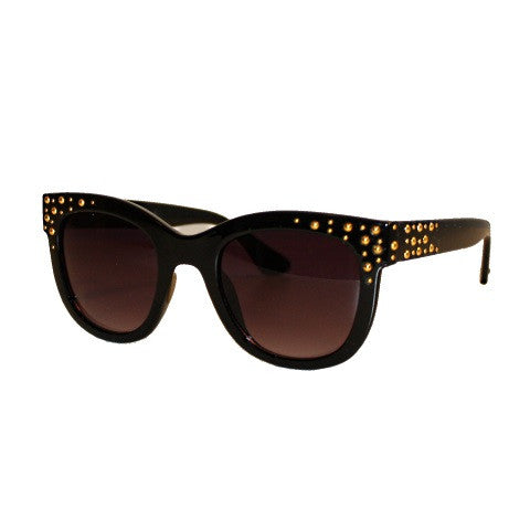 sunglasses - the cleo - black