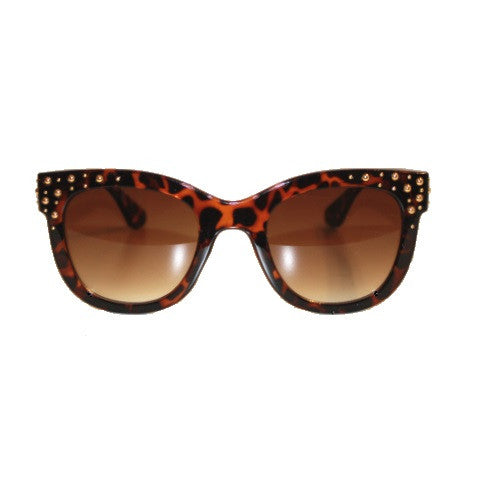 sunglasses - the cleo - tortoise
