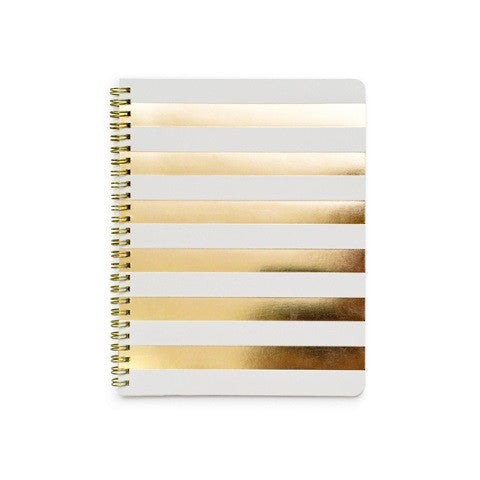 cabana stripe notebook