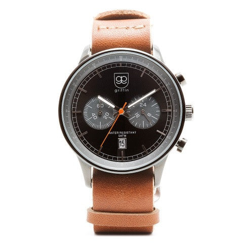 founder watch - brown