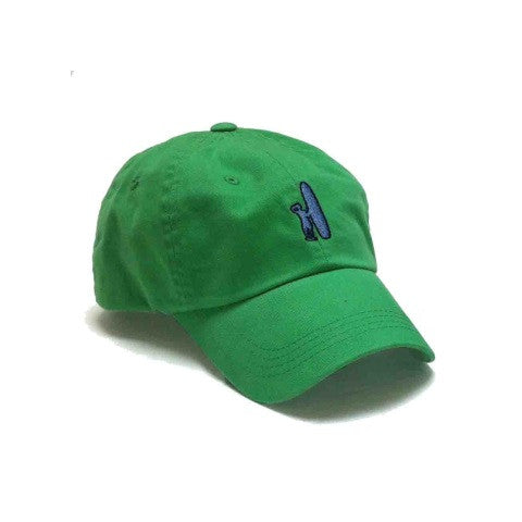 logo hat - green