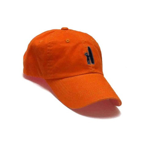 logo hat - orange