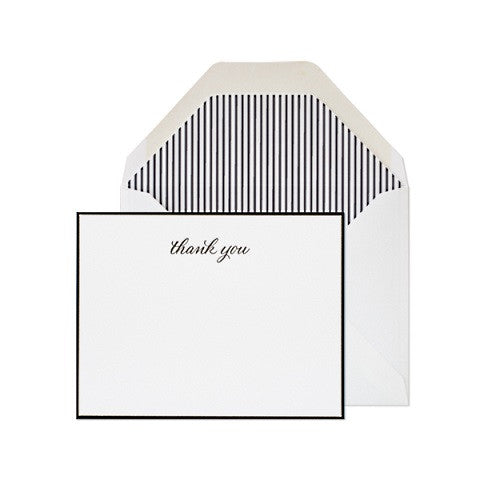 traditional thank you - set