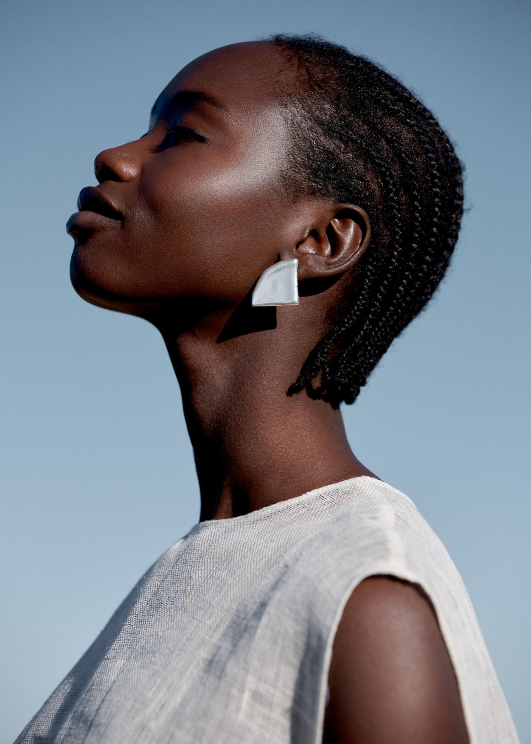 CRESCENT + SHAPE earrings