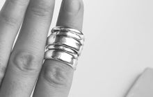 Load image into Gallery viewer, AURA STUDIOS LIQUID SILVER THIN RING