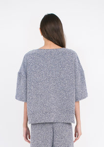 AURA Studios AW21 Relaxed Top Speckle