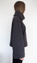 Load image into Gallery viewer, AURA Studios. EDGE Jumper with drape collar. 100% Cotton.