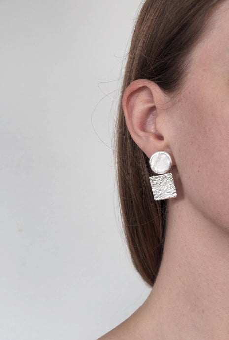 CIRCLE_SQUARE_EARRINGS_STERLING_SILVER_MADE_IN_SYDNEY_AUSTRALIA_AURA_STUDIOS
