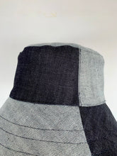 Load image into Gallery viewer, BLOCK HAT . Denim²