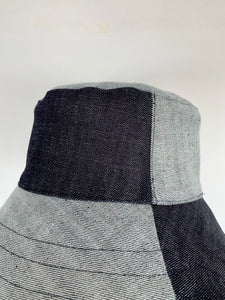 BLOCK HAT . Denim²