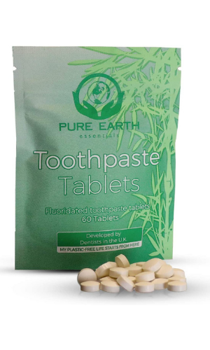 pure toothpaste tablets