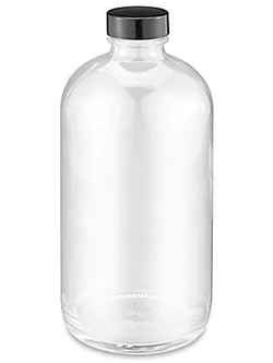 250 ML Clear Glass Bottle