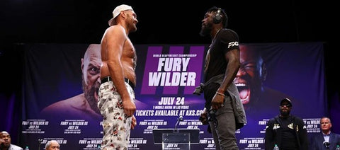 Fury and Wilder face off for their third fight