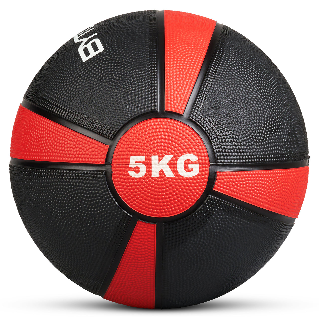 Bytomic 5kg Rubber Medicine Ball, Exercise & Fitness by Fight Co