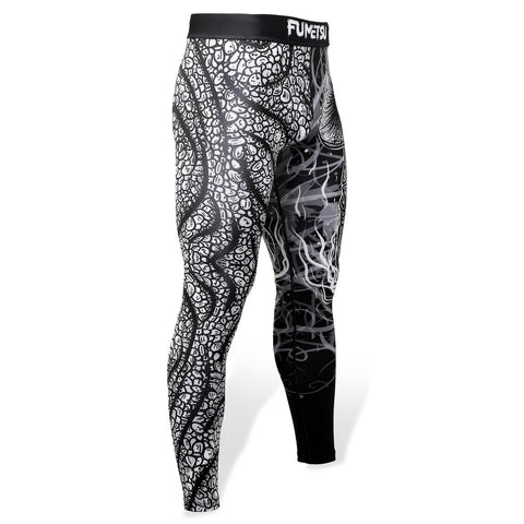 Image of Fumetsu Rampage Spats Black/White - Fight Co
